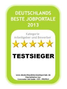 deutschlands beste jobportale 2013 bekannte namen siegerehrung am messe katzentisch helge. Black Bedroom Furniture Sets. Home Design Ideas